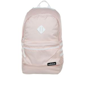 Classic 3S backpack by adidas pink white straps